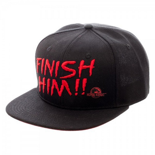 Mortal Kombat - Finish Him Snapback Cap