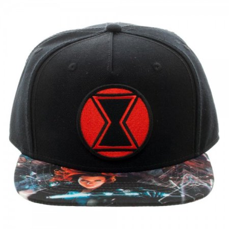 Marvel: Captain America: Civil War - Black Widow Snapback Cap