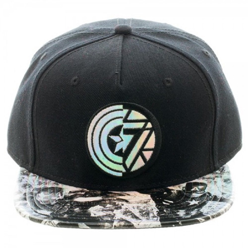 Captain America Civil War Iridescent Snapback Cap
