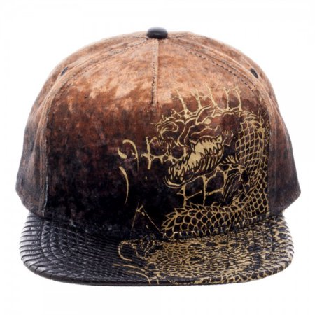 Suicide Squad Killer Croc Velvet/Leather Snapback Cap