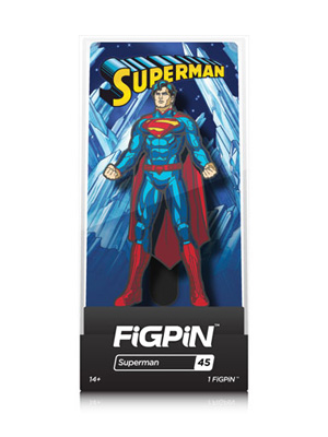 DC Comics: Justice League - Superman FiGPiN #45
