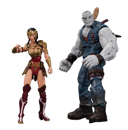 DC Collectibles: Injustice Gods Among Us - Wonder Woman vs. Solomon Grundy Figure 2-Pack