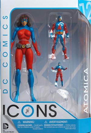 DC Collectibles: DC Icons - Atomica Forever Evil Action Figure #12