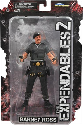 The Expendables 2: Barney Ross w/ Beret Action Figure
