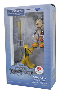 Disney: Kingdom Hearts - Mickey with Pluto Action Figure (Walgreens Exclusive)