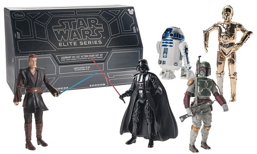 Star Wars: Elite Series - Legendary Die Cast Set 301/500 (Disney D23 2015 Exclusive)