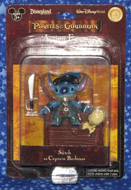 Disney Parks: Pirates of the Caribbean - Stitch as Captain Barbosa Action Figure (Disney Parks Exclusive)