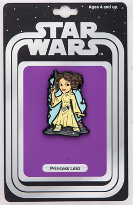 Star Wars: Princess Leia Lapel Pin w/ Vintage Card Back (Our NYCC Exclusive)