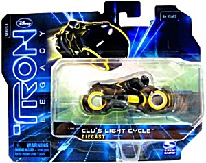 Disney: Tron Legacy - Series 1 Clu's Light Cycle Die Cast