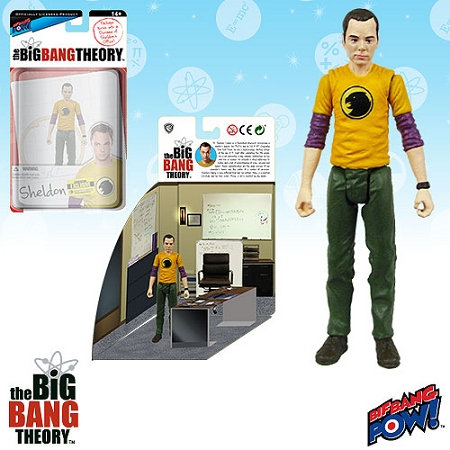 Biff Bang Pow!: The Big Bang Theory - Sheldon Diorama (SDCC Exclusive)