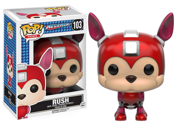 POP! Games: Megaman - Rush Vinyl Figure #103