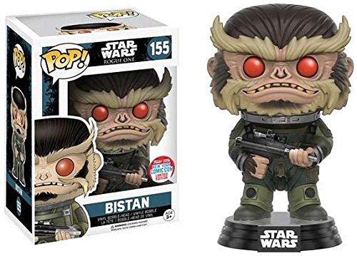 POP! Star Wars: Rogue One - Bistan Vinyl Bobblehead Figure #155 (NYCC 2016 Exclusive)
