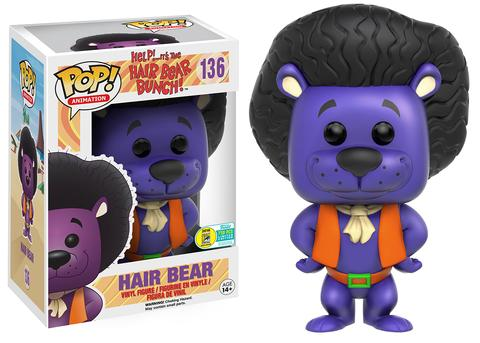 POP! Animation: Help! It's the Hair Bear Bunch! - Purple Hair Bear Vinyl Figure #136 (SDCC 2016 Exclusive)