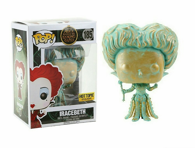 POP! Disney: Alice Through The Looking Glass - Iracebeth Vinyl Figure #185 (Hot Topic Exclusive)