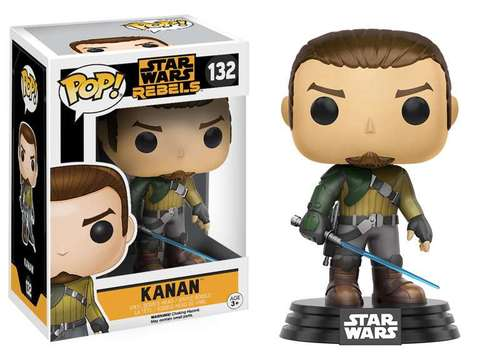 POP! Star Wars: Rebels - Kanan Vinyl Bobblehead Figure #132