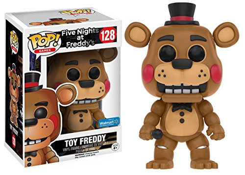 POP! Games: Five Nights at Freddy's - Toy Freddy Vinyl Figure #128 (Walmart Exclusive)