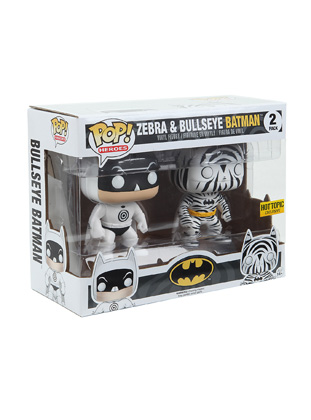 POP! DC Comics: Zebra & Bullseye Batman Vinyl Figure 2-Pack (Hot Topic Exclusive)