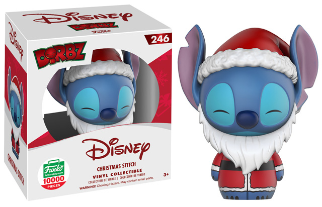 Dorbz Disney: Lilo and Stich - Christmas Stich Vinyl Figure #246 (Funko Exclusive)