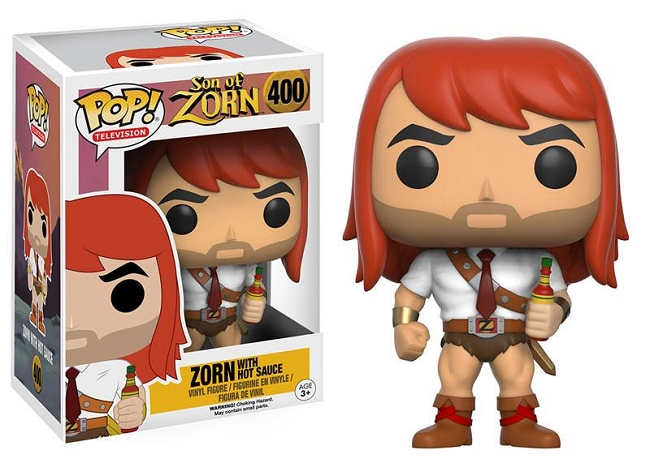 POP! Television: Son of Zorn - Zorn w/ Hot Sauce Vinyl Figure #400