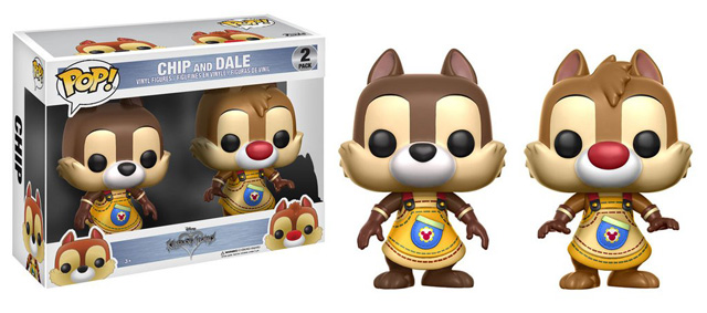 POP! Disney: Kingdom Hearts - Chip & Dale Vinyl Figure 2-Pack
