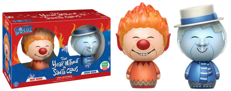 Dorbz Movies: The Year Without a Santa Claus - Heat Miser & Snow Miser 2-Pack