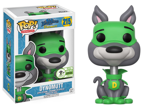 POP! Animation: Blue Falcon & Dynomutt - Dynomutt Vinyl Figure #215 (Emerald City Comic Con 2017 Exclusive)
