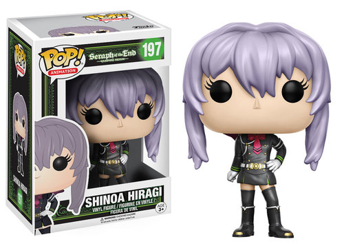 POP! Animation: Seraph of the End - Shinoa Hiragi Vinyl Figure #197