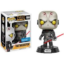 POP! Star Wars: Rebels - The Inquisitor Vinyl Bobblehead Figure #166 (Walmart Exclusive)