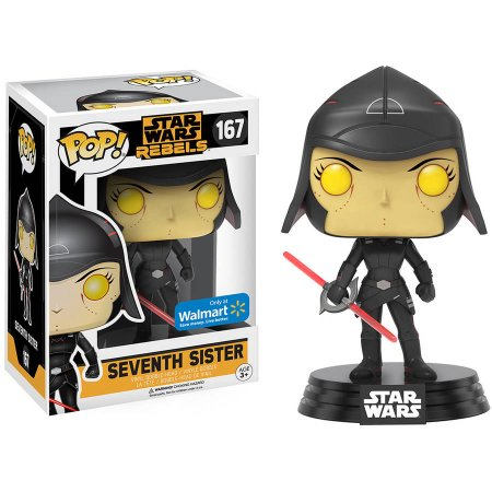 POP! Star Wars: Rebels - Seventh Sister Vinyl Bobblehead Figure #167 (Walmart Exclusive)