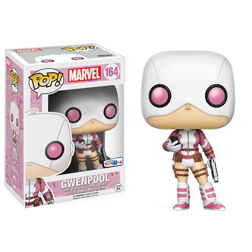 POP! Marvel: Gwenpool /w Cellphone Bobblehead Vinyl Figure #164 (Toys R Us Exclusive)