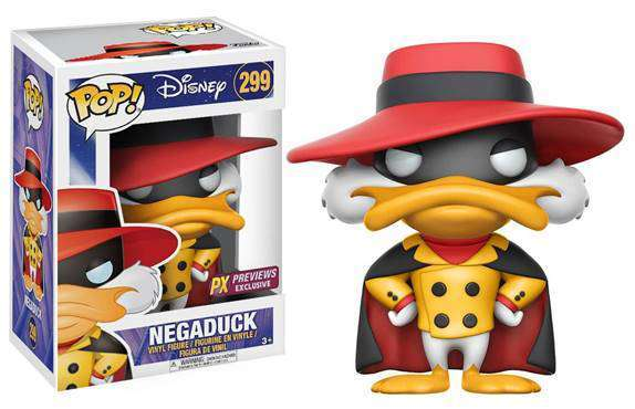 POP! Disney: Darkwing Duck - Negaduck Vinyl Figure #299 (Previews Exclusive)