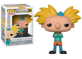 POP! Animation: Hey Arnold! - Arnold Shortman Vinyl Figure #324