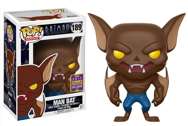 POP! DC Comics: Batman: The Animated Series - Man Bat Vinyl Figure #189 (SDCC 2017 Exclusive)*