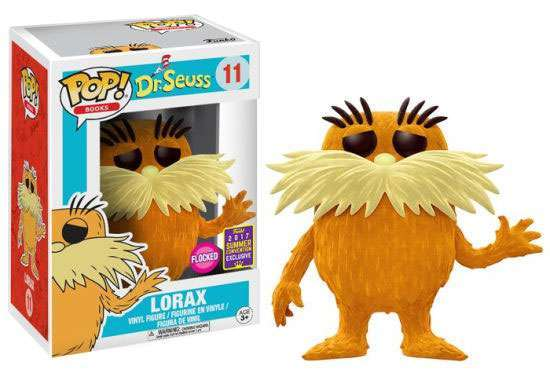 POP! Books: Dr. Seuss - The Lorax Flocked Vinyl Figure #11 (SDCC 2017 Exclusive)*