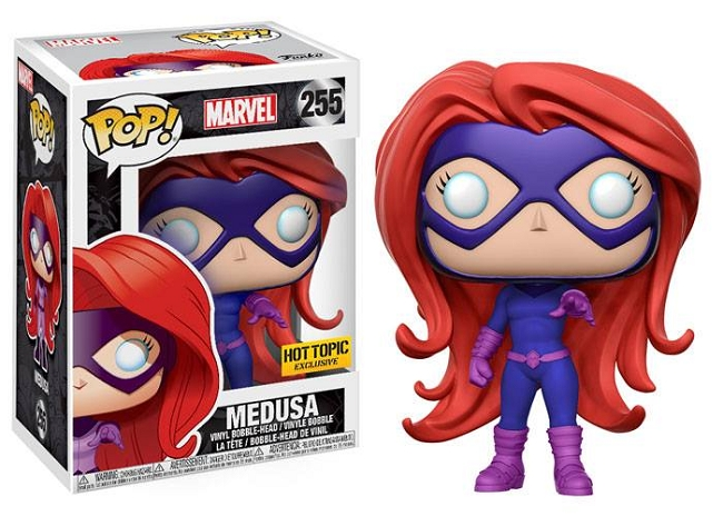 POP! Marvel: Inhumans - Medusa Vinyl Bobblehead Figure #255 (Hot Topic Exclusive)