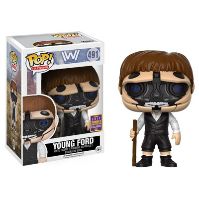 POP! Television: Westworld - Young Ford Vinyl Figure #491 (SDCC 2017 Exclusive)*