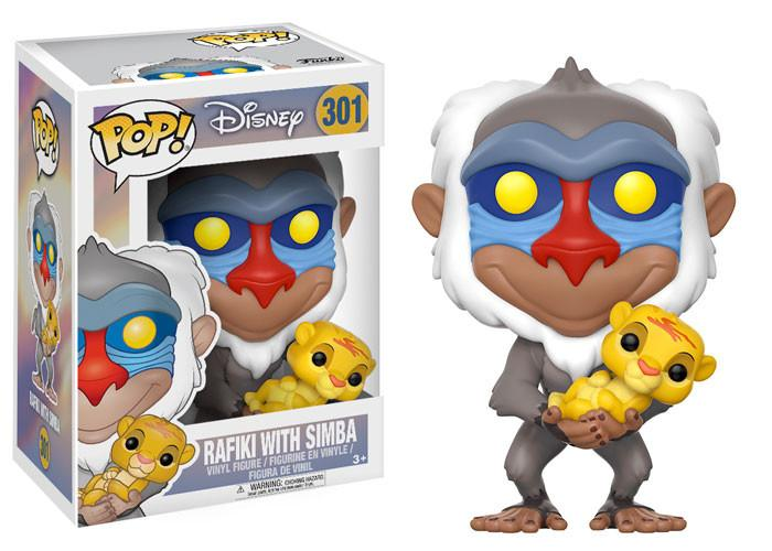 POP! Disney: The Lion King - Rafiki with Simba Vinyl Figure #301