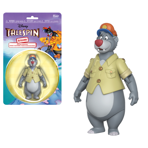Funko Action Figures Talespin Baloo Action Figure