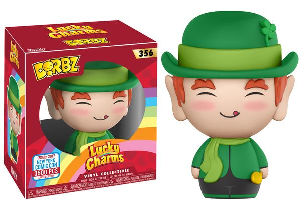 Dorbz: Ad Icons - Lucky Charms Vinyl Figure #356 (NYCC 2017 Exclusive)