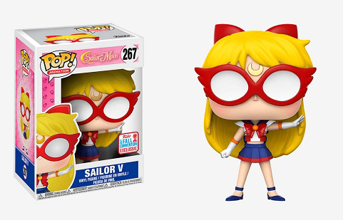 POP! Animation: Sailor Moon - Sailor V Vinyl Figure #267 (NYCC 2017 Exclusive)*