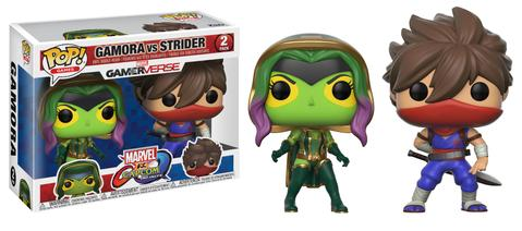 POP! Games: Marvel vs. Capcom - Strider vs Gamora Vinyl Figure 2-Pack