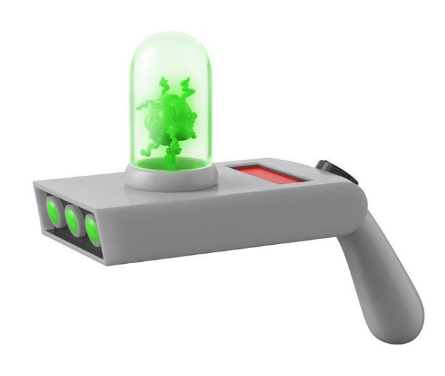 Funko Toys: Rick & Morty - Portal Gun Light-Up Replica w/ Sound