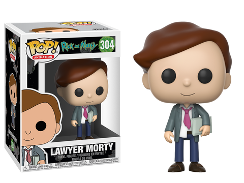 POP! Animation: Rick & Morty - Lawyer Morty Vinyl Figure #304