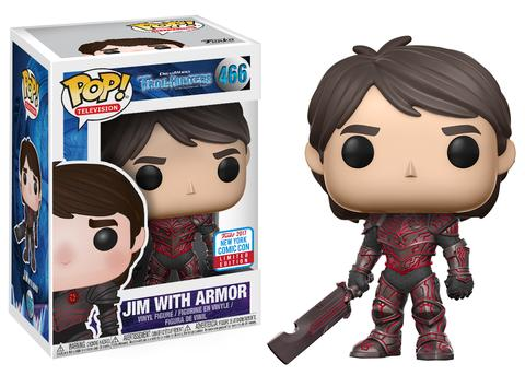 POP! Television: Trollhunters - Jim with Armor Vinyl Figure #466 (NYCC 2017 Exclusive)