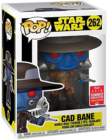 POP! Star Wars: Cad Bane Vinyl Bobblehead Figure #262 2018 Summer Convention Exclusive LE