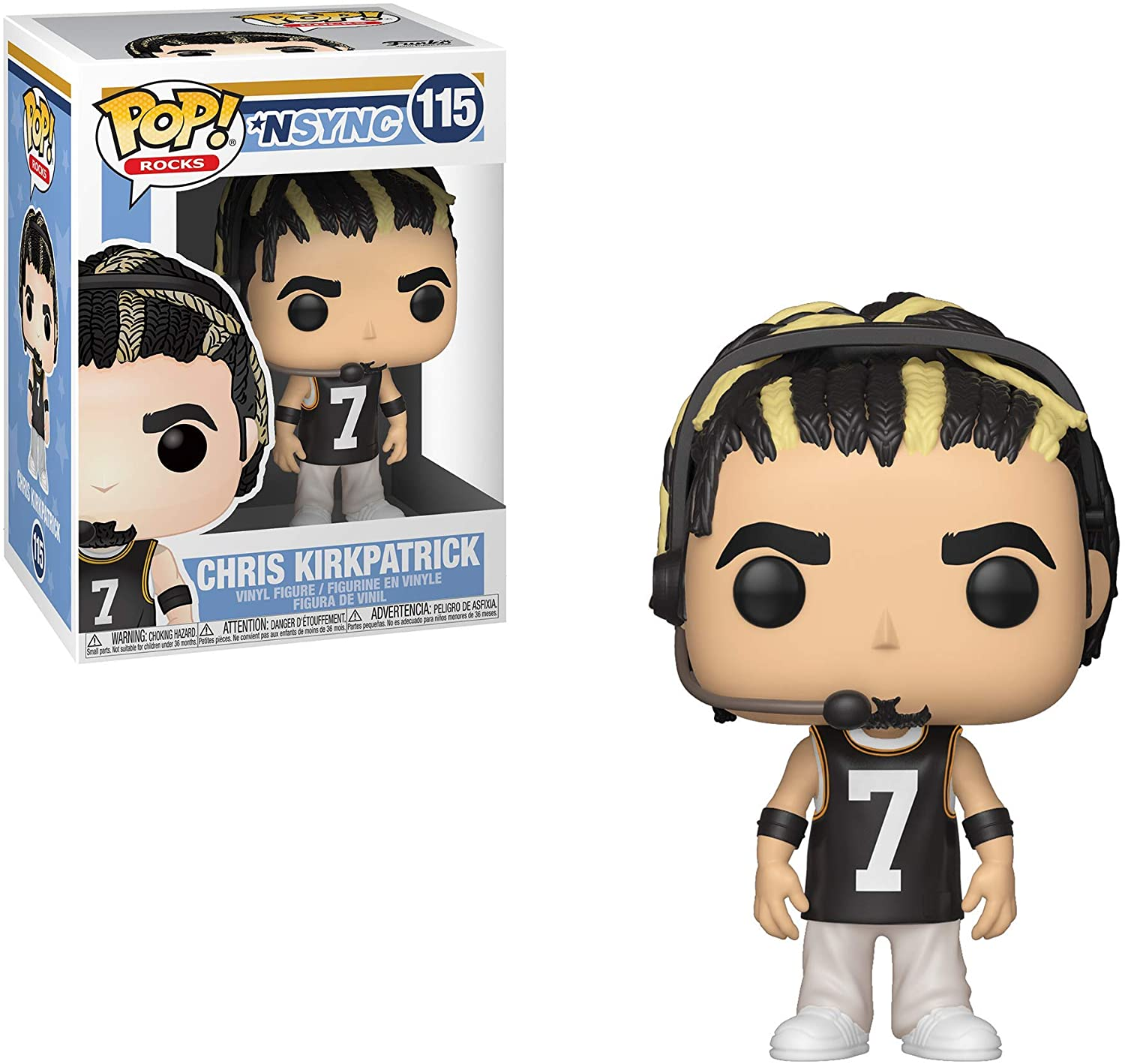 POP! Rocks: N'SYNC - Chris Kirkpatrick Vinyl Figure #115