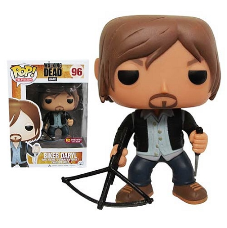POP! Television: The Walking Dead - Biker Daryl Dixon Vinyl Figure #96  (Previews Exclusive)