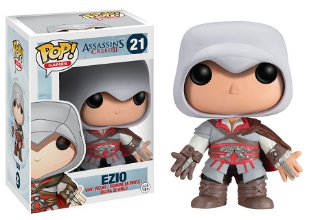 POP! Games: Assassin's Creed - Ezio Vinyl Figure #21