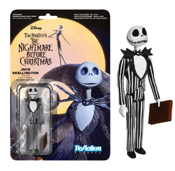 Funko ReAction: Nightmare Before Christmas - Jack Skellington Action Figure