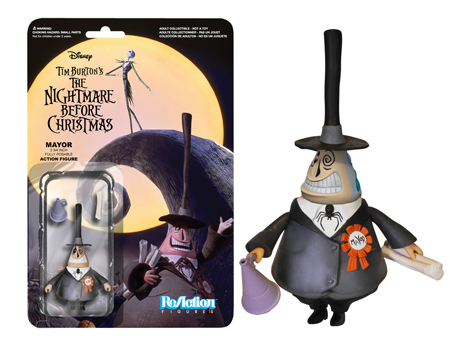 Funko ReAction: Nightmare Before Christmas - Mayor Action Figure